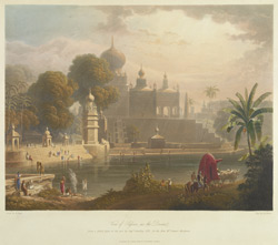 View of Sassoor in the Deccan, drawn in 1813